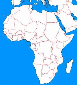 Blank Map Of Africa And Europe | www.pixshark.com - Images ...
