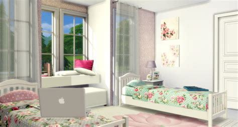 Twin Girls Bedroom at Lily Sims » Sims 4 Updates