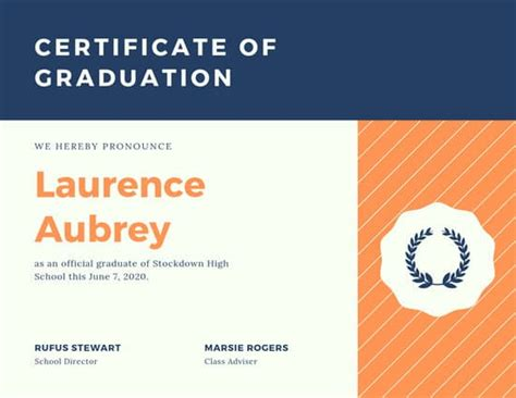 customize 61 diploma certificate templates canva