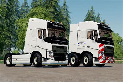 volvo fh  trucks pack  yesmods