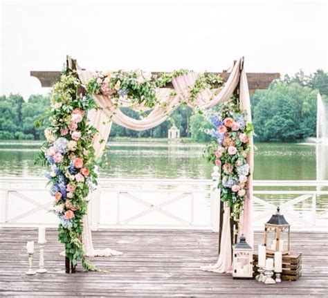 copper lanterns for candles best 25 wedding arbors ideas on rustic