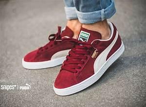Trendy Sneakers 2017/ 2018  Puma Suede Classic+ u2018Bordeauxu2019 post image   Puma suede classic ...