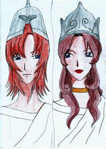 Ares and Athena by AyzaBelonging on DeviantArt