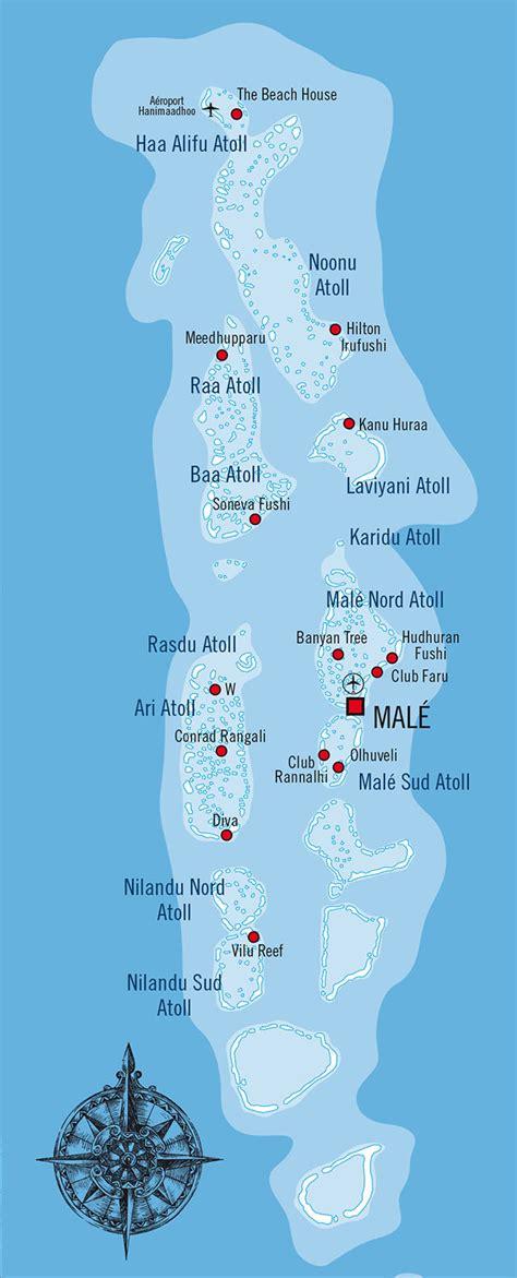 Carte Du Monde Avec Maldives by Carte Maldives Carte Du Monde