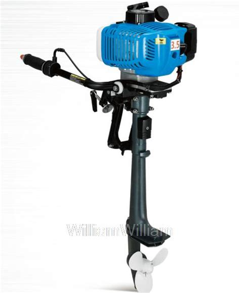 Boat Motors Air Cooled by Free Shipping Anqidi 2 Stroke 3 5 Hp Air Cooled Outboard