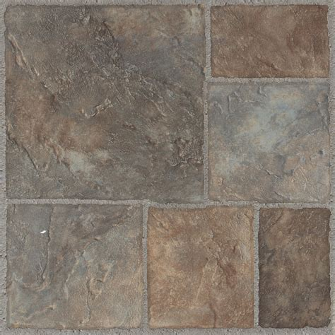 linoleum flooring b q colours grey red stone effect self adhesive vinyl tile 1 02 m 178 pack departments diy at b q