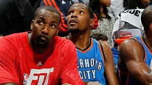 Kevin Durant makes fun of Kendrick Perkins' stats while ...
