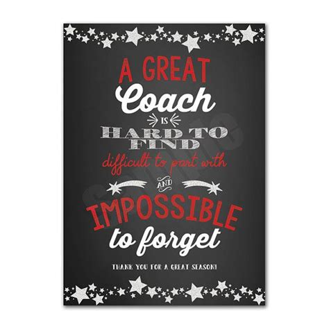 coach appreciation   card printable instant