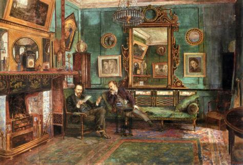 The changing color schemes of victorian homes. Victorian decorative arts - Wikipedia