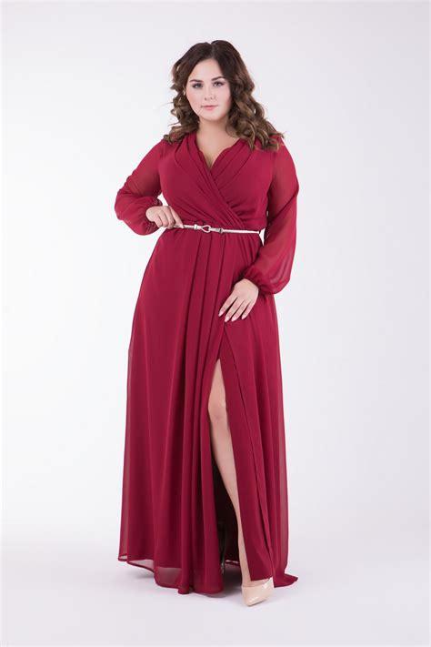 Купить женские праздничные платья больших размеров в интернет магазине
