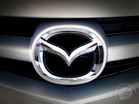 Mazda Logo Free Stock Photo Image Picture Silver Mazda