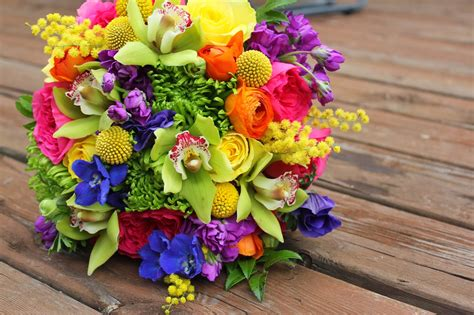 F Dellit Designs Vibrant Colored Wedding Travis
