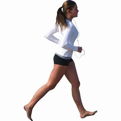 Running Woman Jogging Transparent Sports Icon
