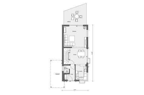 Grundriss Haus 8m Breit by Schmales Hauskonzept Schw 246 Rerhaus