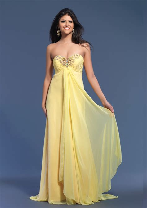 yellow dresses for dave johnny