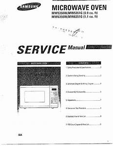 Samsung Samsung Microwave Oven Parts