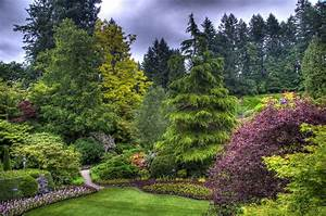 Butchart Gardens Victoria Canada Full HD Wallpaper and ...