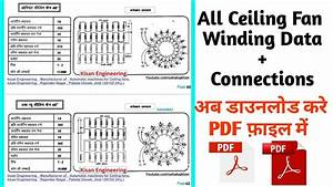 6 Pics Ceiling Fan Winding Calculation Pdf And View