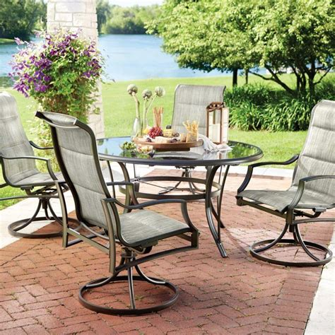 outdoor table and chairs set furniture bnew rattan bar set outdoor garden dining table