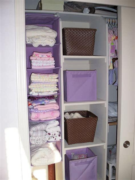 blanket storage baby ideas closet