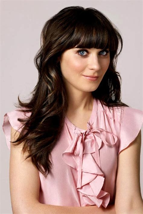 secrets  zooey deschanel  girl hairstyle
