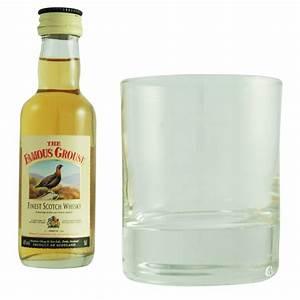 Coffret Verre Whisky : coffret mignonnette et verre the famous grouse ~ Teatrodelosmanantiales.com Idées de Décoration