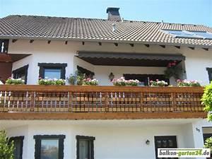 zopfkonsole fichte von balkon garten24de With französischer balkon mit tanne garten