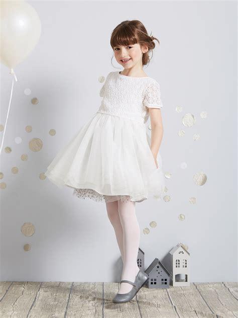 robe de cérémonie fille pour mariage white dresses robes blanches vertbaudet