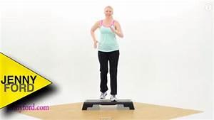 Beginner Step Aerobics Fitness Cardio Jenny Ford Youtube