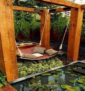 modern kitchen furniture 39 relaxing outdoor hanging beds for your home digsdigs