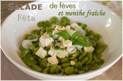 feve cuisine salade de fèves fraîches fêta et menthe le de c 39 est nathalie qui cuisine