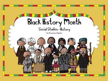 black history month social studies history kindergarten 790 | original 531802 1