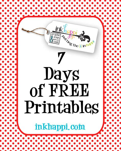 5 Best Images Of Printable Days Of The Week Sheet Days