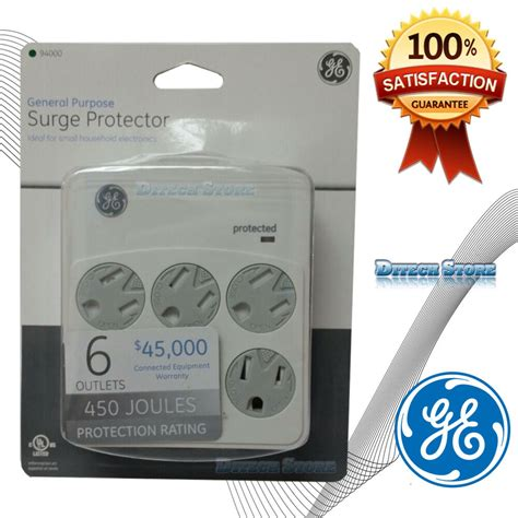 surge joules protector ge