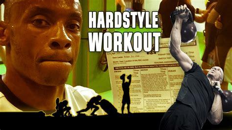 kettlebell hardstyle workout rkc