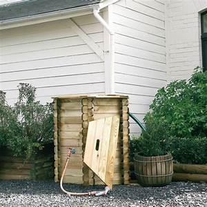 Recuperateur Eau De Pluie 1000 Litres : r cup rateur d 39 eau en bois 1000 litres ~ Premium-room.com Idées de Décoration
