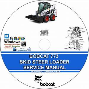 Bobcat 773  773 High Flow  773 Turbo Skid Steer Loader