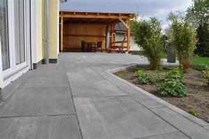 Pflastern Ohne Randsteine : garten terrasse aus betonplatten mit hochdruckreiniger reinigen hausbau blog ~ Frokenaadalensverden.com Haus und Dekorationen