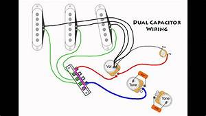 Stratocaster Mod Wiring - Dual Capacitors
