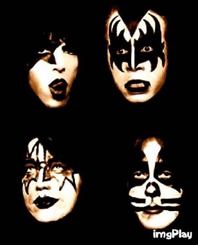 Kiss Rock Band 1979 Bands Detroit Vincent