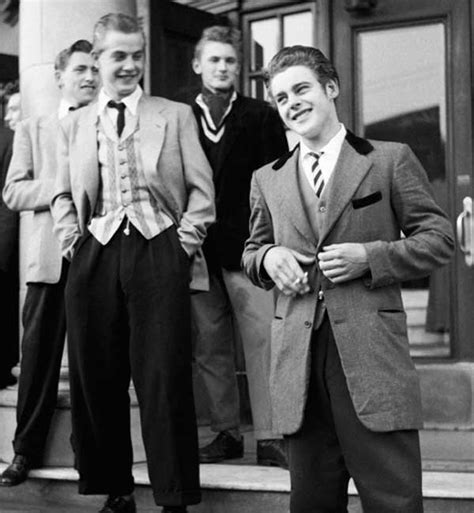 1950s teddy boys style trends history pictures