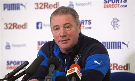 ally mccoist wont  leaving  ibrox  time
