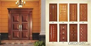 Buy Morden Soild Wooden Door Design for Hotel , Village