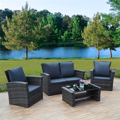 Rattan Garden Sofa Sets by 4 Algarve Rattan Sofa Set For Patios Conservatories