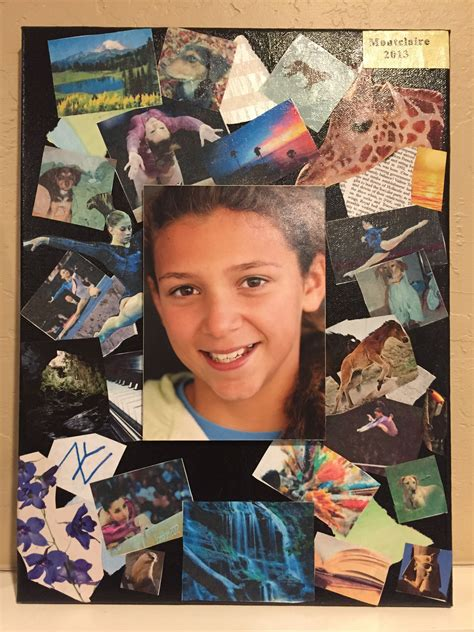photo  canvas  decoupage collage  images student