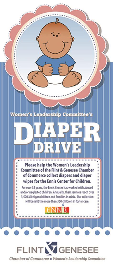 womens leadership committee closes year  diaper drive