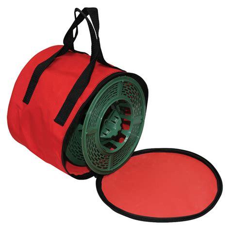wrap n roll string light storage reels w bag 3 pack