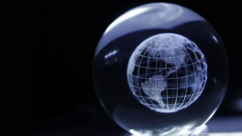 Download Crystal Globe Wallpaper 1920x1080