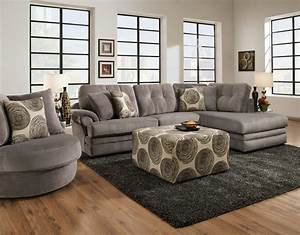 16b0 small sectional sofa with chaise on right side by for Sectional sofa with right side chaise