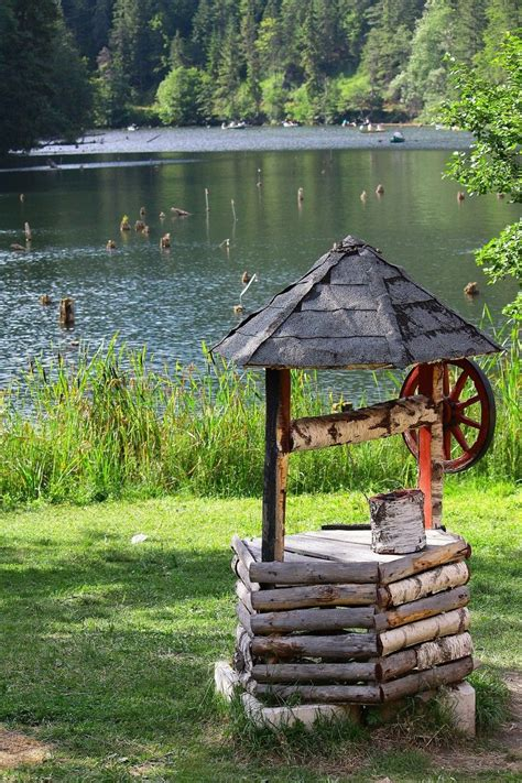 Backyard Well by Wishing Well On The Lake Or In The Back Yard